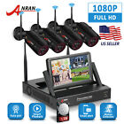 ANRAN Home 1080P Wireless Security Camera System Outdoor 2MP 4/8CH NVR 1TB CCTV