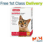 Beaphar WormClear Cat Worming Tablets One Dose Roundworm Tapeworm Cats Kittens