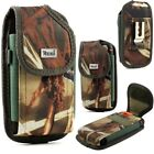 Reiko Vertical Rugged Camouflage Pouch for iPhone LG Samsung Motorola