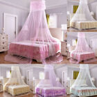 Princess Lace Insect Bed Canopy Netting Curtain Round Dome Mosquito Net image