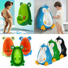 Frog Kids Toddler Potty Toilet Training Children Urinal Boy Pee Trainer Bathroom
