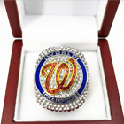 Official 2019 Washington Nationals World Series Championship Ring 8-14 SZ STOCK