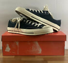 Converse Chuck Taylor All Star 70 Ox Low Black 144757C Size 10-11 FOG