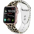 Leopard Print iWatch Band Wrist Strap For Apple Watch 5 4 3 2 1 38/40/42/44mm image