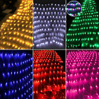 Led Net Mesh Fairy String Lights New Years Party Indoor Outdoor Fancy Home Decor