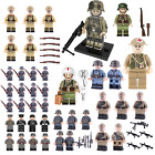 ww2 minifigure us soviet british axis soldier moc army use with lego uk stock