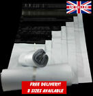 100pcs x Strong White Plastic Self Seal Mailing Bags Postal Pack Ebay Amazon