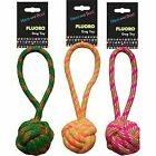 Hem & Boo Fluoro Rope Toy with Handle for Dogs | Dogs