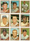 1962 Topps (447-598) Stars and Commons * You Pick * Conditions Listed