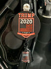 Trump 2020 Round Bell Hanger With Trump Bell Fits All Motorcycles Harley