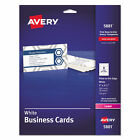 Print-to-the-Edge Microperforated Business Cards with Sure Feed Technology, Colo