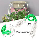 5Pcs Self Watering Cotton Core Rope Planter Pot Irrigation Auto Waterer DIY Tool