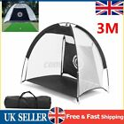 1M/2M/3M Foldable Golf Driving Cage Practice Hitting Net Outdoor Trainer Bag  UK