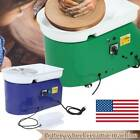 25CM Electric Pottery Wheel Ceramic Machine Work Clay Art Craft DIY 110V 250W image