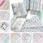 Cotton Baby Blankets Newborn Soft Organic Swaddle Bath Feed Towel Sleeping Scarf