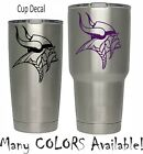 Minnesota Vikings Football Decal for NFL YETI Tumbler 20 30 Ozark RTIC Sticker