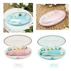 1x Baby Electric Nail File Tool Safe Trimmer for Newborn Toddler Toes Fingernail
