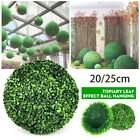 1*Artificial Hanging Topiary Buxus Balls Faux Boxwood Plant Garden Outdoor Decor