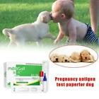 Early Pregnancy Test Strips Dog Cat Detection Gravidity Paper Diagnostic T9M9