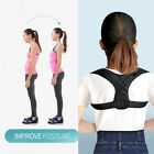 Straight Support Back Posture Corrector Brace Belt Therapy Prevents Slouching