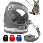 Vest Reflective Walk Leash Dog Harness Chest Strap Collar Pet Traction Rope