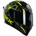 AGV K1 Full Face Motorcycle Motorbike Helmet - Flavum 46 Rossi Black / Yellow