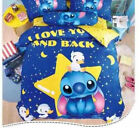 Lilo Stitch Cartoon Bedding Sets Queen Twin Full Comforter Cover Set Pillow Case