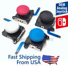 OEM White Red, Blue Analog Stick Replacement Nintendo Switch & Lite joystick Lot