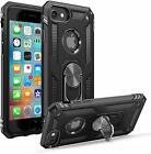 For Iphone 7 Plus & Iphone 8 Plus Case Kickstand Shockproof Ring Hard Cover