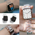 Transparent Resin Band iWatch Strap Bracelet For Apple Watch Series 5/4/3/2/1 image