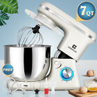 7QT 3In1 Stand Mixer Electric Kitchen Appliance Multifunction 6 Speeds Tilt Head