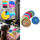 Intelligence Preschool Teaching Demonstration Numbered Fractions Circles