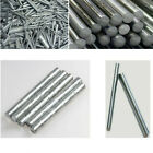 Pure Nickel Ni Rod Zinc Zn Bar Anode Solid 2mm -20mm Round Metal Shaft 100 300mm