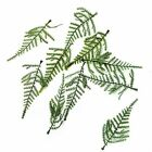 Artificial plastic Asparagus fern spray green leaves foliage Various amounts