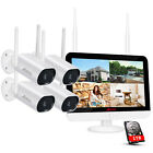 ANRAN Outdoor Wireless Security WiFi Camera System CCTV 1080P HD NVR With 1TB IR