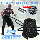 AU 38MM 9/12/15M Battle Power Rope Workout Exercise Strength Training Fitness