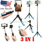 3in1 Extendable Selfie Stick Tripod bluetooth Remote For GoPro Cell Phone Camera