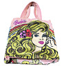 Loungefly X Barbie White Day Tote Bag Hnadbag Backpack Girl RARE USED