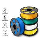 SUNLU 3D Printer Filament ABS PLA PETG SILK PLA+ 1.75mm 1kg/2.2lb Multiple Color
