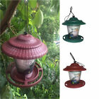 Outdoor+Hanging+Lantern+Green%2FRed+Bird+Feeder+Station+for+Nuts+etc.