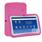 Quad Core 7 Inch Kids Tablet PC Android 7.0 Dual Camera HD WiFi 8GB Bundle Case