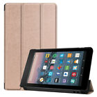 For Amazon Kindle Fire HD 10 8 7 9th Gen 2019 Flip Magnetic Leather Tablet Case
