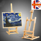 Lager Wooden Easel Foldable Table Top Stand Display Beech Artist Painting Craft