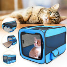 Pet Dog Cat Portable Tent Cage Folding Kennel Puppy Playpen House Bed