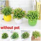 Artificial Simulation Plants Potted Grass Fake Flowers Home/office Decoration