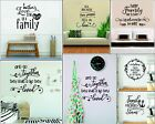 Home Kitchen Room Decal Decor Family