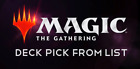 MTG Starter Planeswalker Deck Magic the Gathering Pick List (No Boosters/Codes)