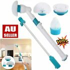 Electric Spin Scrubber Turbo Scrub Cleaning Brush Cordless Chargeable Bathroom B