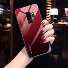 Shockrpoof Gradient Tempered Glass Case Cover For Samsung A6 A8 Plus A7 A9 2018