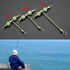 Fishing 3 Way Rolling Swivel T-shape Cross-line Mini Q0l6 Beads Luminous L S9a4